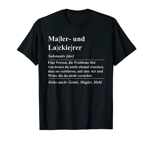 Maler und Lackierer Definition lustig Beruf...