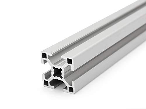 Aluminiumprofil 30x30 B-Typ Nut 8 - Zuschnitt...