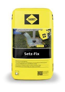 SAKRET Setz-Fix Fertiggemisch für schnelle...
