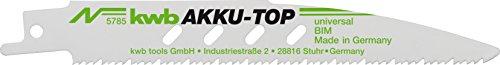kwb AKKU TOP Säbelsäge-Blätter im...
