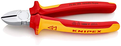 KNIPEX Seitenschneider 1000V-isoliert (180...