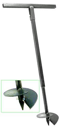 200 mm Erdbohrer Handerdbohrer Erdlochbohrer...