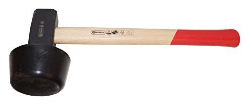 Connex Plattenverlegehammer 2400 g Holzstiel...