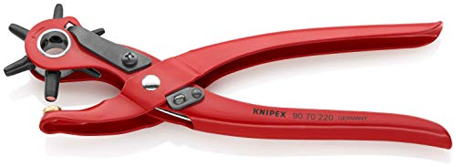KNIPEX Revolverlochzange (220 mm) 90 70 220...