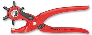 KNIPEX 90 70 220 EAN Revolverlochzange rot...