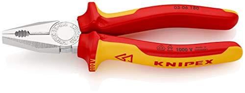 KNIPEX Kombizange 1000V-isoliert (180 mm) 03...