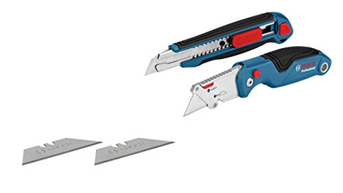 Bosch Professional 2 tlg. Messer Set (mit...