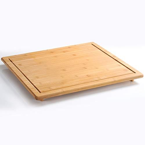 Kesper Herdabdeckplatte, Holz, Braun, 56 x 50...