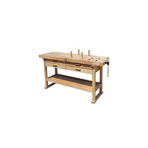 Holzmann – Werkbank Holz 1625 x 610mm, 4...