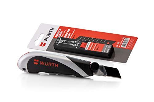 Würth Profi 3K-Cutter-Messer und 10...