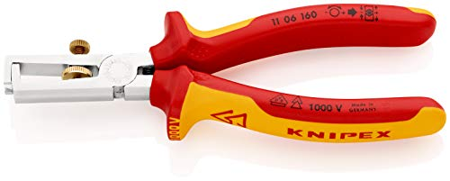 KNIPEX Abisolierzange mit Öffnungsfeder,...