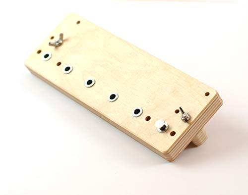 Bohrlehre Holz für System 32 mm Lochreihen...