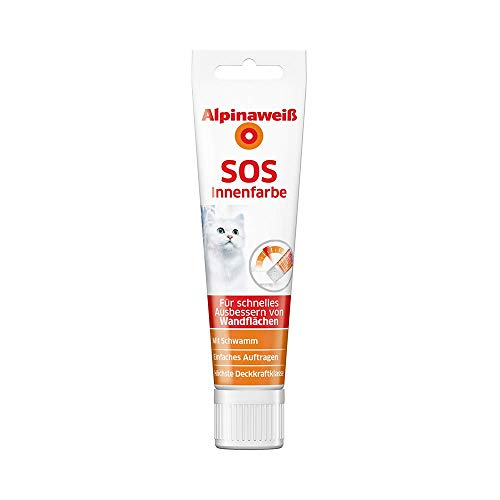 Alpinaweiß SOS Innenfarbe 100 ml Tube mit...
