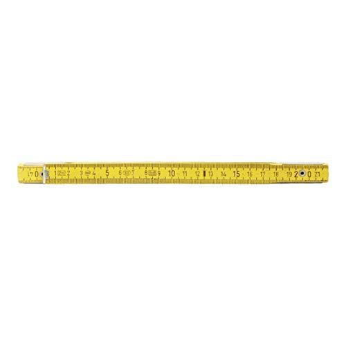 KS Tools 300.0060 Holz-Gliedermaßstab, gelb,...