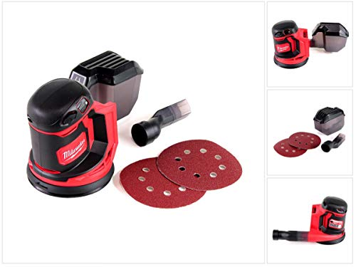 Milwaukee M18 BOS125-0 Exzenterschleifer, 12...