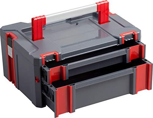 Connex Systembox - Mit zwei Schubladen - 13,5...