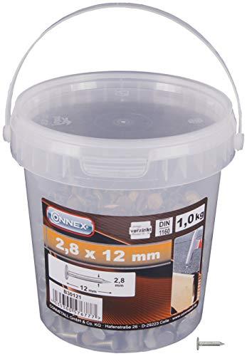 Connex Dachpappstifte 2,8 x 12 mm - 1000 g -...