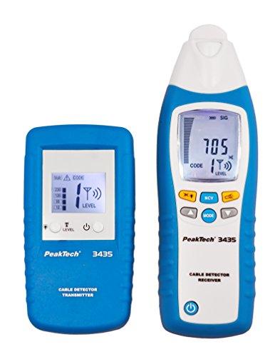 PeakTech 3435 – Leitungssuchgerät mit...