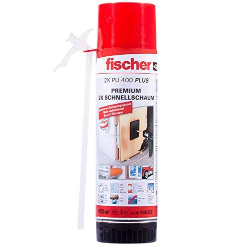 fischer Premium 2K Schnellschaum PU 400 PLUS,...
