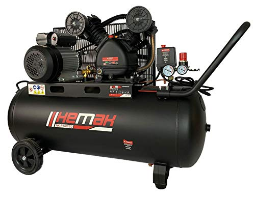 HEMAK HK-R100/10 Kompressor Riemenantrieb 100...