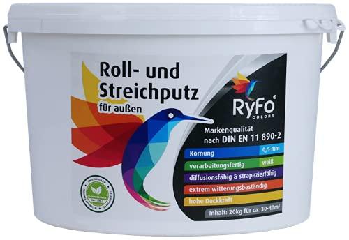 RyFo Colors Roll- und Streichputz für außen...
