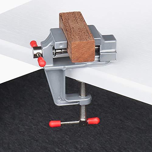 RMENOOR Mini Tisch Schraubstock Universal...