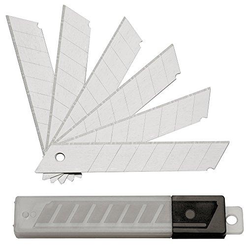 100 ST. Abbrechklingen Cuttermesser 18 mm;...