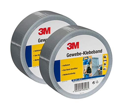 3M Gewebe-Klebeband, Panzerband, Gaffa-Tape...