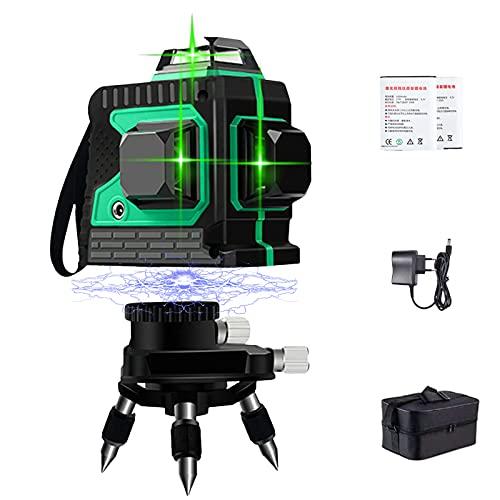 3D Kreuzlinienlase Grün - Laser Level...
