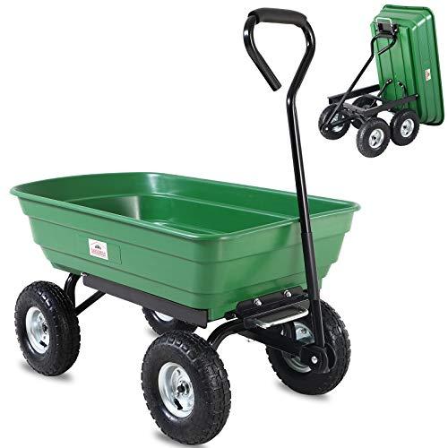 Deuba Gartenkarre 300 kg Kunststoff...