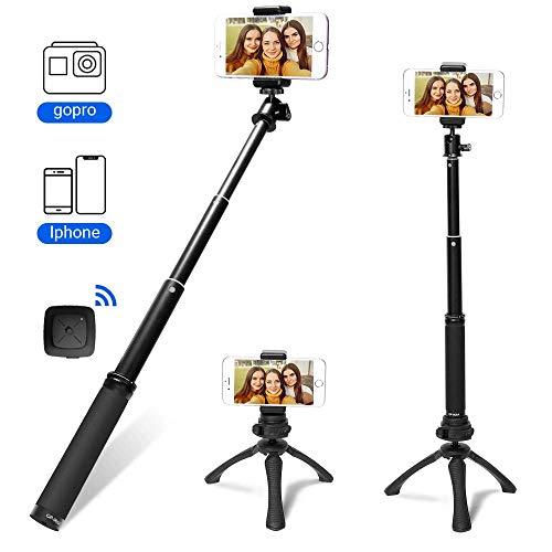 Fotopro Selfie Stick Stativ, Mini Erweiterbar...