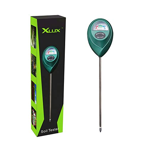 XLUX Boden-Feuchtigkeitsmessgerät,...