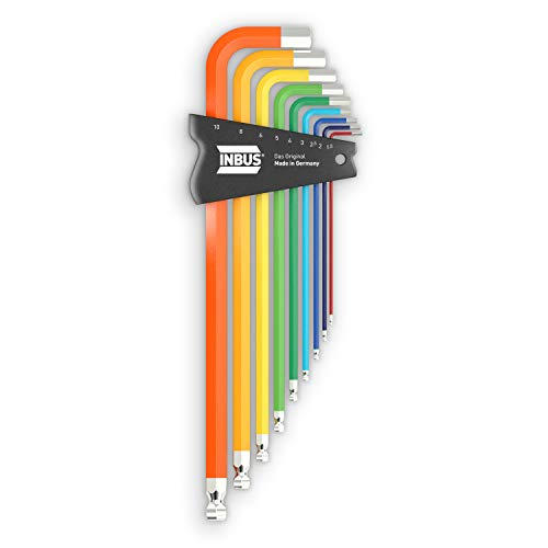 INBUS® 70273 Inbusschlüssel Set 9tlg,...