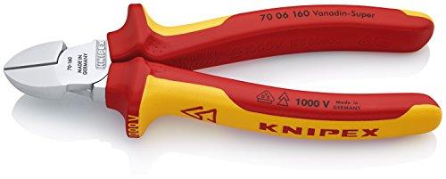 KNIPEX Seitenschneider 1000V-isoliert (160...