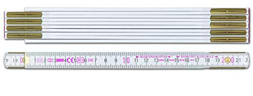 BMI Zollstock 9042, robuster Meterstab aus...