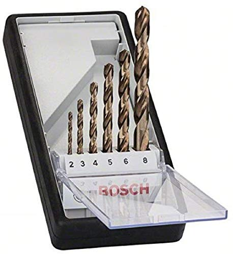 Bosch Pro 6tlg. Metallbohrer-Set HSS-Cobalt...