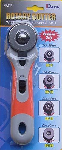 DAFA Soft Grip Rollschneider, 45mm