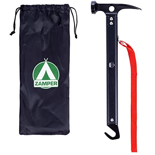 Zamper Camping-Hammer mit Herings-Auszieher -...