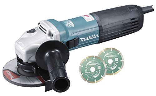Makita GA5040CJD Winkelschleifer 125mm 1400W...