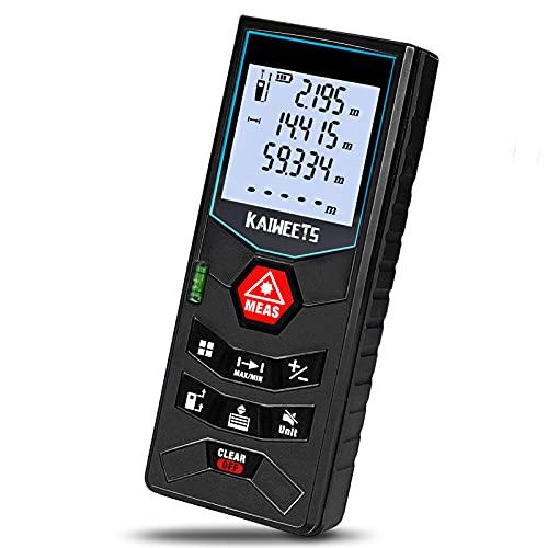 Laser Entfernungsmesser, bis zu 60m/±2mm...