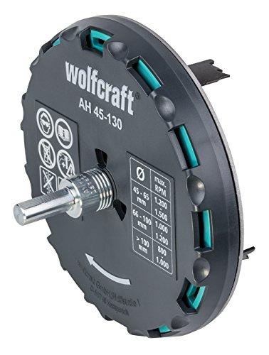 wolfcraft Lochsäge 5978000 – Verstellbarer...