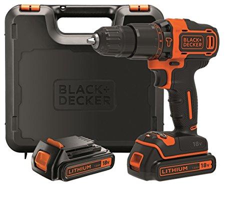 Black+Decker 2-Gang Akku-Schlagbohrschrauber...