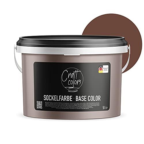 Sockelfarbe 5L Dunkel Braun | hochwertige...