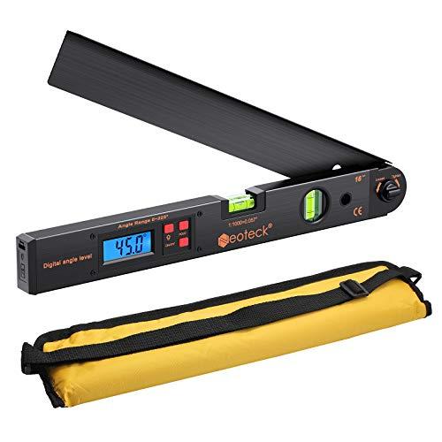Neoteck Digitaler Winkelmesser 400mm / 16...