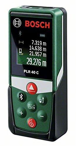 Bosch Laser-Entfernungsmesser PLR40C (2 x AAA...