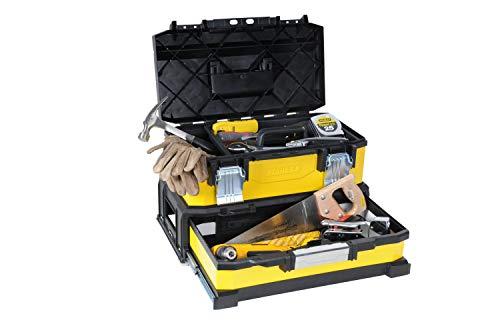 Stanley 20' Werkzeugbox Metall-Kunststoff mit...
