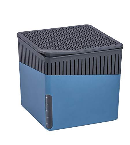 WENKO Raumentfeuchter Cube Blau 1000 g -...