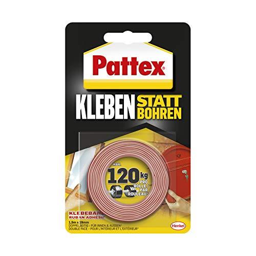 Pattex Kleben statt Bohren Klebeband, extra...