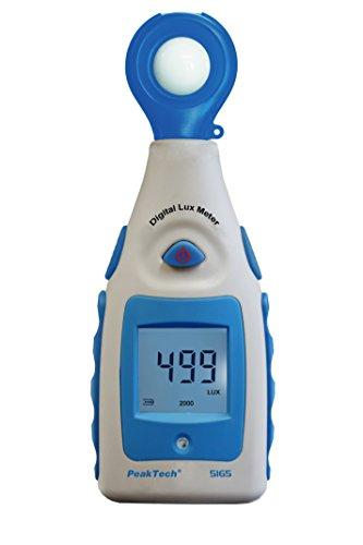 PeakTech Digital Luxmeter, Lichtmesser,...