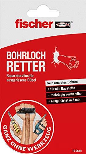 fischer BOHRLOCH RETTER, Reparaturvlies für...
